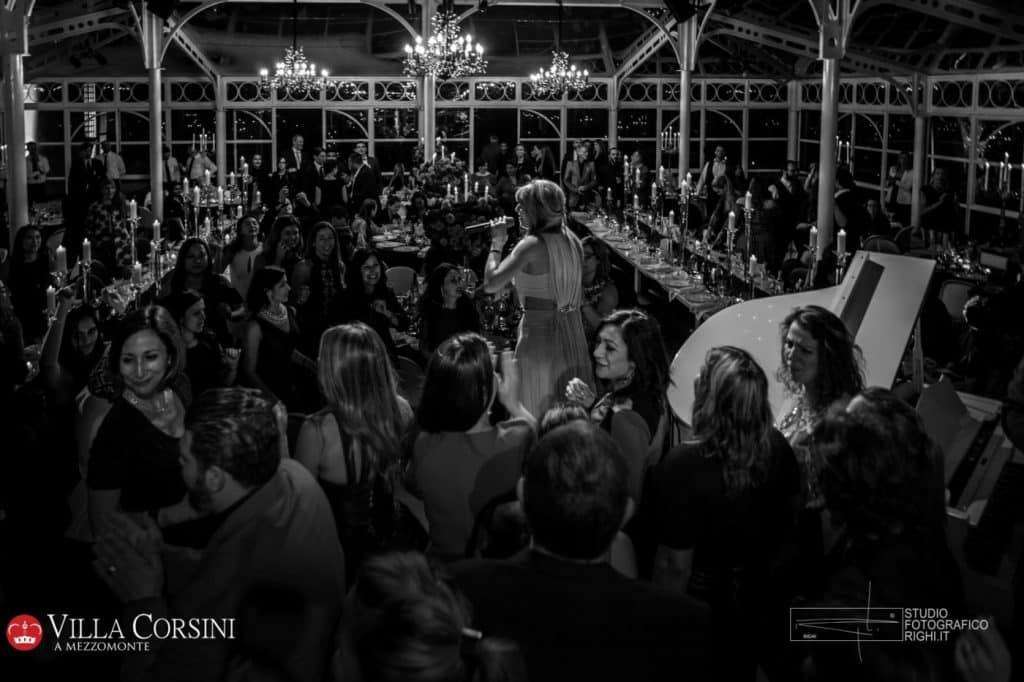 Spettacolo, musica e divertimento al Gala Dinner del Congresso DWP a Villa Corsini