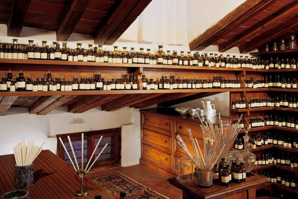 Lorenzo Villoresi's elegant and exclusive atelier in Florence