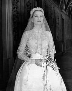Grace Kelly's iconic wedding dress