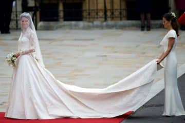 Kate Middleton's magical wedding dress