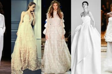 Wedding dresses: styles and trends for 2018