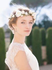 Corona fiori matrimonio Country Chic