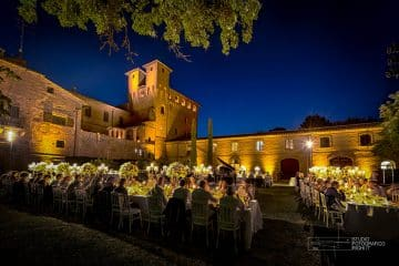 matrimonio in castello toscano
