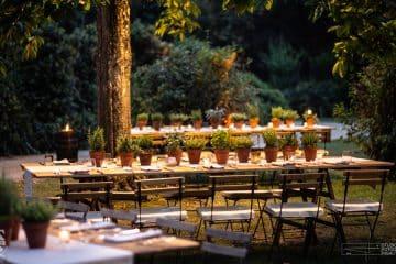 giardino corsini allestito per matrimonio