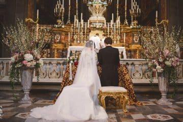 cerimonia cattolica di nozze